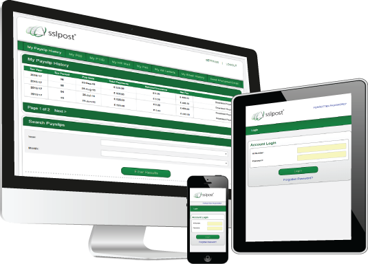 Epayslip Solutions - Secure electronic payslip solutions SSLPost