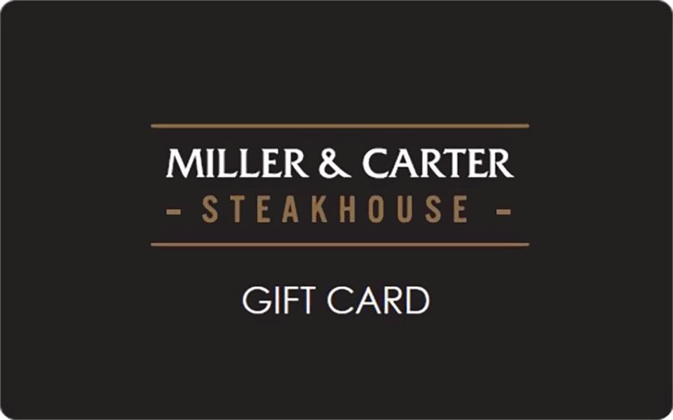 Miller & Carter Gift Card