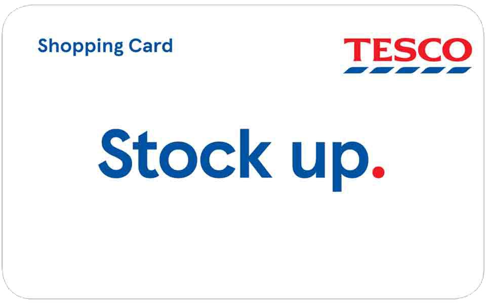 Tesco Shopping Card